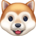 🐶 dog face Emoji on Facebook Platform