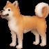 🐕 dog Emoji on Facebook Platform