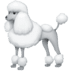 🐩 poodle Emoji on Facebook Platform