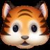 🐯 tiger face Emoji on Facebook Platform