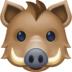 🐗 boar Emoji on Facebook Platform