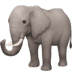 🐘 elephant Emoji on Facebook Platform