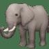 🐘 elephant Emoji on Facebook Platform