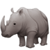 🦏 rhinoceros Emoji on Facebook Platform