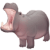 🦛 hippopotamus Emoji on Facebook Platform