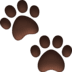 🐾 paw prints Emoji on Facebook Platform