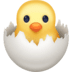🐣 hatching chick Emoji on Facebook Platform