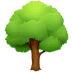 🌳 deciduous tree Emoji on Facebook Platform