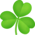 ☘️ shamrock Emoji on Facebook Platform