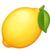 🍋 lemon Emoji on Facebook Platform