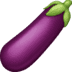 🍆 eggplant Emoji on Facebook Platform