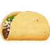 🌮 taco Emoji on Facebook Platform
