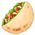 🥙 stuffed flatbread Emoji on Facebook Platform