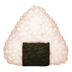🍙 rice ball Emoji on Facebook Platform