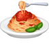 🍝 spaghetti Emoji on Facebook Platform
