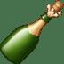 🍾 bottle with popping cork Emoji on Facebook Platform