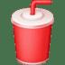 🥤 cup with straw Emoji on Facebook Platform
