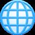 🌐 globe with meridians Emoji on Facebook Platform