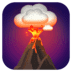 🌋 volcano Emoji on Facebook Platform