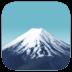 🗻 mount fuji Emoji on Facebook Platform
