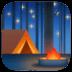 🏕️ Camping Emoji auf der Facebook-Plattform