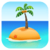 🏝️ desert island Emoji on Facebook Platform