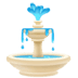 ⛲ fountain Emoji on Facebook Platform