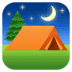 ⛺ tent Emoji on Facebook Platform