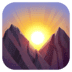 🌄 sunrise over mountains Emoji on Facebook Platform