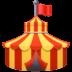 🎪 circus tent Emoji on Facebook Platform