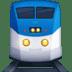 🚆 Поезд Эмодзи на платформе Facebook
