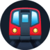 🚇 metro Emoji on Facebook Platform