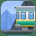 🚞 mountain railway Emoji on Facebook Platform