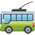 🚎 trolleybus Emoji on Facebook Platform