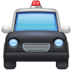 🚔 oncoming police car Emoji on Facebook Platform