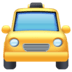 🚖 oncoming taxi Emoji on Facebook Platform