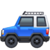 🚙 Sports Utility Vehicle Emoji on Facebook Platform