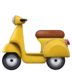 🛵 motor scooter Emoji on Facebook Platform