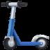 🛴 kick scooter Emoji on Facebook Platform