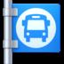 🚏 bus stop Emoji on Facebook Platform