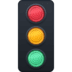 🚦 vertical traffic light Emoji on Facebook Platform