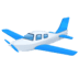 🛩️ small airplane Emoji on Facebook Platform