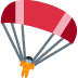 🪂 parachute Emoji on Facebook Platform