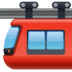 🚟 suspension railway Emoji on Facebook Platform