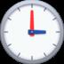 🕒 three o'clock Emoji on Facebook Platform