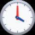 🕓 four o'clock Emoji on Facebook Platform