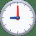 🕘 nine o'clock Emoji on Facebook Platform