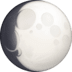 🌔 waxing gibbous moon Emoji on Facebook Platform