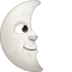 🌜 last quarter moon face Emoji on Facebook Platform