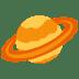 🪐 ringed planet Emoji on Facebook Platform